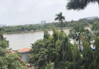 Bán gấp căn hộ dịch vụ view sông Sài Gòn, góc 2 mặt tiền Thảo Điền