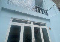 Nhà đẹp khu dân trí 1 trệt 1 lầu và lửng hẻm 3m gần đường Nguyễn Văn Đậu, P11