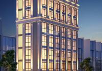 Cho thuê mặt phố Hoàng Quốc Việt 300m2, 8 tầng, 1 hầm, MT 12m, thông sàn, thang máy. Giá 350tr
