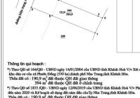 Bán đất mặt tiền đường Bình Hoà, Phước Hạ, Phước Đồng. Đường quy hoạch rộng 16m
