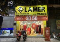 Cửa hàng tầng 1, diện tích 45m2 mặt tiền 6m. Mặt phố Nguyễn Phong Sắc