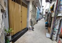 Nhà nhỏ mới đẹp 1 lầu 1 lửng, sổ hồng riêng chính chủ, giá 1.49 tỷ, hẻm 111 Phạm Văn Chiêu