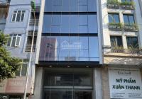 Cho thuê nhà mặt phố Trung Phụng 90m2x 8 tầng, mặt tiền 7.2m, thông sàn, thang máy (hầm để xe rộng)