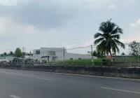 Bán nền góc 2 mặt tiền Quốc lộ 1A gần đại học Võ Trường Toản, khu công nghiệp, giá cực tốt