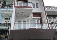 Nhà 4 tầng, 3PN, 3WC, sân thượng hẻm 47 Trường Lưu - 3.99 tỷ/50m2, DTSD 145m2, hẻm thông, H. Tây
