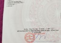 Tôi chính chủ cần bán đất lô góc 2 MT tại Long Điền, Vũng Tàu, giá 3.2 tỷ/ 247.5m2, có sổ riêng