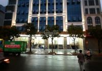 Cho thuê tòa nhà mặt phố Thái Hà, Đống Đa. DT 150m2 * 7 tầng + 1 hầm, mặt tiền 18m, tòa nhà mới xây