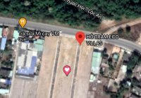 Khu nghỉ dưỡng ven biển Hồ Tràm Eco villas, 2 mặt tiền đường 42m