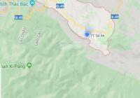 Bán đất mặt đường Nguyễn Chí Thanh tổ 11 thị trấn Sa Pa kinh doanh tốt, gần ga cáp treo