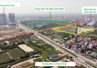 Bán gấp lô đất liền kề 75m2 đẹp nhất trung tâm TT Trâu Quỳ, cạnh công viên 29ha, cách Vinhomes 300m
