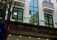 Cho thuê tòa nhà Trần Thái Tông 145m2 x 7 tầng, 1 hầm, mặt tiền 9m