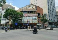 Cho thuê góc 2 mặt tiền thương hiệu Lê Lai - Trương Định, P. Bến Thành Q1 (8.1x18m) 3 tầng đoạn vip