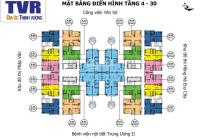 Chính chủ bán căn hộ 60.75m2, ban công Đông Nam tòa nhà Tứ Hiệp Plaza, Lh 0944460893