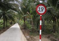 Bán 1340m2 đất vườn xã Nhơn Thạnh, Tp Bến Tre