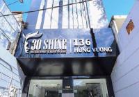 Cho thuê nhà kinh doanh spa 1200m2 mặt tiền Hùng Vương, Quận 10, DT 8x25m trệt 5 lầu TM. Gía 100tr