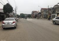 Bán thửa 92.5m2 đất ở 4m mặt phố đường đôi xã Thanh Mỹ, thị xã Sơn Tây, Hà nội