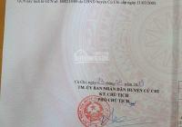 Bán đất Phước Vĩnh An, Củ Chi, 7x40m, công nhận 270m2 thổ cư full giá 2.62 tỷ