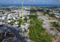 353.8m2 Với 2 mặt tiền đường Nguyễn Trung Trực (17m) và sau giáp N1 quảng trường (13m)