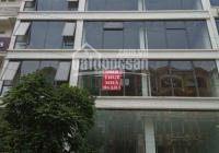 Cho thuê nhà mặt phố Vạn Phúc, dt 150m2, 2 mặt tiền 10m, thuận tiện kinh doanh, làm ngân hàng