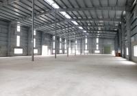 Cho thuê kho xưởng 1000m2 - 2500m2 - 5000m2 tại cụm công nghiệp Ngô Quyền, Hải Dương