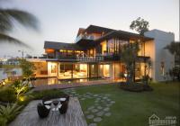 Bán villa sân vườn góc 2 mặt tiền Trần Não, Bình An, Q.2 DT: 540m2 XD: 4 tầng hiện đại giá: 75 tỷ