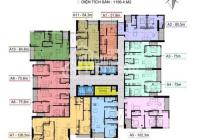 Duy nhất căn hộ 3PN, 2WC, 2 logia, tầng đẹp thoáng mát , liên hệ đi xem căn hộ 0899513866