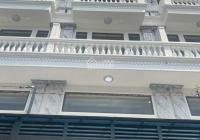 Bộ ba nhà phố có thang máy 1 lửng 3 lầu DT 4mx17m, nhà mới siêu đẹp sát MT Lê Văn Thọ