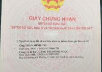 Chính chủ bán đất 6x21m, ngay trung tâm TP.Bảo Lộc, không vướng quy hoạch, sổ riêng, LH: 0868833228