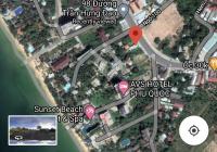 Bán đất Phú Quốc mặt tiền Trần Hưng Đạo, DT 1750m2, khu trung tâm sầm uất