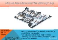 Cần bán căn hộ 3pn full nội thất cao cấp ở ngay - giá từ 43tr/m2 108 Nguyễn Trãi. LH 0988185741