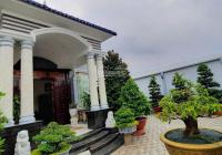 Bán biệt thự mặt tiền QL50, Mỹ Phong, TP Mỹ Tho 14x36.5m NH 17m 3PN, phòng karaoke, 2wc, 2 bếp