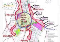 Bán đất Phú Tân 5x20m: 100m2, giá 2 tỷ 6