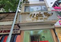 Cho thuê nhà phố Nguyễn Hoàng Mỹ Đình DT 70m2, 7T 1H MT 6m nhà thông sàn - thang máy VP giá 70tr/th