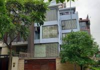 Cho thuê nhà MP căn góc 2MT phố Trần Kim Xuyến, DT 150m2, XD 110m2*4,5 tầng + hầm. Giá 95 tr/th