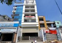 Cho thuê Tòa nhà mặt tiền Võ Văn Kiệt TT Quận 1 8.5x20m 10 tầng thang máy. Giá 200tr/tháng