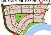 Cần bán gấp đất dự án Văn Minh 15 x 18m, giá 120tr/m2 thích hợp cho khách hàng đầu tư