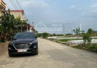 Bán 73.5m2 đất thổ cư bìa làng đường rộng 10m. Lô 2 đường Vân Nội gần Trung Tâm Xã