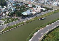 Nền cực đẹp mặt tiền Hồ Bún Xáng, Ninh Kiều, Cần Thơ