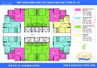 Gia đình chuyển vào Nam cần bán nhanh căn 2PN - 70m2 dự án Osaka Complex full nội thất