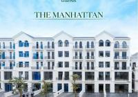 Cho thuê Shophouse The Manhattan - Vinhomes Q9, 84m2 trệt 4 lầu, trục D9 cực đẹp ngay công viên