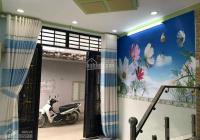 Bán nhà đẹp 1 trệt 1 lầu SHR 25m2 Nguyễn Thị Búp, P. Hiệp Thành, Quận 12. Hẻm 3m góc 2MT hẻm