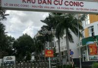 Bán gấp căn nhà phố đối diện chung cư, KDC Conic 13B mặt tiền Nguyễn Văn Linh, diện tích 7x20m
