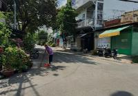 Cho thuê nhà căn góc 2 MT đường Đỗ Bí, DT 7x18m đối diện cổng sau trường học