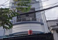 Nhà hẻm 2 sẹc, đường Bến Phú Lâm P9 Q6. 3,2 x 10,3m (28,3m2), trệt, 2 lầu đúc thật (4 phòng ngủ)