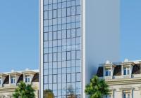 Cho thuê tòa nhà mặt phố Hoàng Quốc Việt - Cầu Giấy 300m2 8 tầng 1 hầm, mặt tiền 12m. Giá 350tr