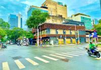 Cho thuê nhà vị trí vip góc Ngã Tư - 104 Hai Bà Trưng + Nguyễn Thị Minh Khai, Q.1. 8x18m trệt lầu