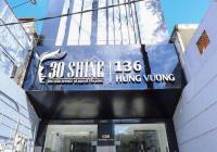Cho thuê nhà mặt tiền đoạn đẹp 136-138 Hùng Vương, P2, Q10. 8x25m trệt 5 lầu thang máy, sân xe hơi