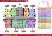 Cần bán căn chung cư ba ngủ mặt đường Tân Mai diện tích 123m2 giá 3,5 tỷ