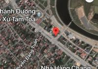 Bán lô đất 2 mặt tiền đường Phạm Văn Đồng, TP Đồng Hới, Quảng Bình
