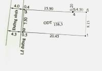 Bán đất trung tâm Becamex Thủ Dầu Một (DT: 7,5x20m)
